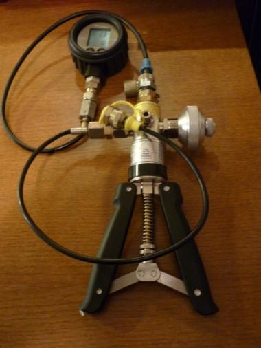 Pressostatpump med high accuracy gauge